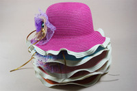 Cheap Girl sun hat Best Summer Crochet Hats Fashion straw hat
