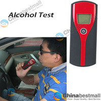 Wholesale Alcohol Breath Tester Analyzer Breathalyzer with LCD Display for Drive Safety