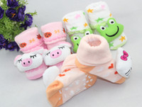 Wholesale dimensional cartoon socks baby socks baby socks stereo cotton non slip socks