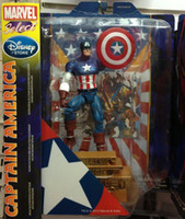 Wholesale Marvel Super Hero Captain America PVC Action Figure Toy Doll quot cm