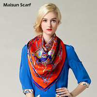 Printed plain silk scarves - 100 Silk Crepe Satin Plain Large Square Scarves mm x cm fashion scarf