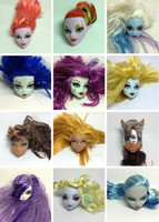 Wholesale Dolls Parts Monster High Heads doll head Toy Christmas Xmas Accessories Gifts styles mixed