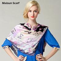 Printed Square Plain 100 Silk Crepe Satin Plain Large Square Scarves 12mm 90 x 90cm muslim hijab