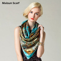 Wholesale polyester imitation silk satin hijab newest square fashion scarf