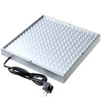 Wholesale FEDEX Freeshipping Quad band W Led Lamp Plant Grow Light Planel Led Glow Lighting