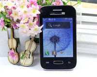 Wholesale Cheap Mini S4 I9500 Cell phone inch touch screen Dual sim Quadband WIFI TV FM Bluetooth