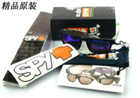 Wholesale Original Package of SPY OPTIC KEN BLOCK HELM Sports Sunglasses Brand Outdoor Sun glass sets