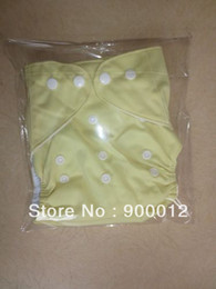 Cloth Diapers Reusable Washable Baby Cloth Nappies 10 Diaper + 10 Insert Nappy 24 Colors Choose