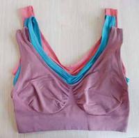 Wholesale Women body shaper seamless bra yaga sports bra maternity small vest t5344