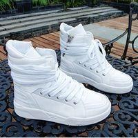 Lace-Up Men  Free shipping men's korean designer fashion high tops sneakers shoes