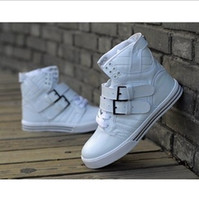 Lace-Up Men  Free shipping Men's fashion high top sneakers sports hip hop tk shoes brand korean black red white