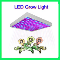 LED 240V RED  AND BLUE  Retail 15W 225 Leds Outdoor Plant Grow Light Panel Hydroponic Lighting Led Bulb Light Lamp Red Blue Free Shipping