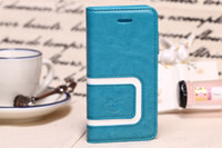 Wholesale Luxury Wallet Leather Case for case for iphone Flip with Stand Credit Card Holder New Arrival