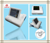 Wholesale CMS800G Twins Fetal FHR Monitor Two Ultrasound Probe One TOCO Probe Printer CE