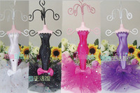 Wholesale Cute Bow Mermaid Jewelry Holder Mannequin Jewelry Display Stand