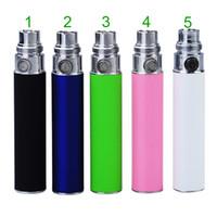 Wholesale Ego Battery Ego T Battery Electronic Cigarette Battery mAh for Ego Kit Ego t EGO C EGO W CE4 CE4 CE5 VIVI NOVA Multi Colors