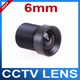 Wholesale Fixed Iris mm Degree Angle IR Board CCTV Lens M12x0 for quot and quot CCD chipsets Camera Day Night