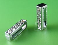 Wholesale 20PCS quot I quot Full Rhinestone MM Slide Letters SL035 Fit DIY Wristbnad Bracelet LSSL02 I