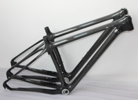 Wholesale Best carbon bike frame set quot quot quot Inside cable route design Full carbon MTB mountain bike bicycle frame er