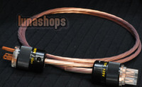 Cable HiFi  Custom Handmade Acrolink Silver Plated Power cable For Tube amplifier CD Player AK-bs551