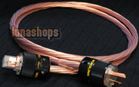 Cable HiFi  Custom Handmade Acrolink Silver Plated Power cable For Tube amplifier CD Player AK-bs726