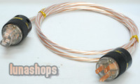 Cable HiFi  Custom Handmade Acrolink Silver Plated Power cable For Tube amplifier CD Player AK-bs471