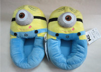 Soft Minion Stuffed Despicable Me Slippers Collectible Cuddl...