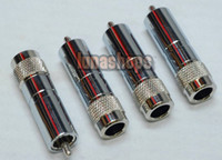 Cable HiFi  Neutral Witout RCA AV DIY Soldering rhodium Plated adapter