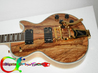 Wholesale Custom Classic Mahogany Electric Guitar with Bigsby New Arrival High Cheap