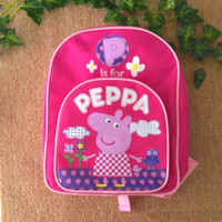 peppa pig children' s school bags backpacks schoolbag Ba...