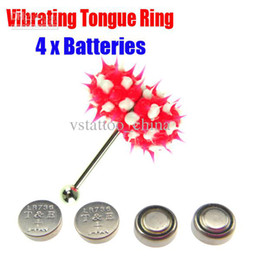 Wholesale Vibrating Tongue Bar Ring Koosh Ball Free Batteries for Body Jewelry Piercing BJA