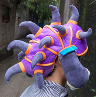 Cool League of Legends LOL Rammus Cosplay HAT PURPLE NEW Dra...