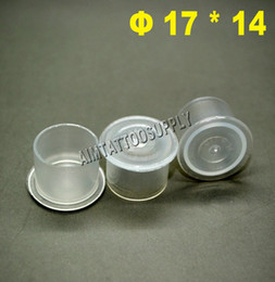 Wholesale Brand New Tattoo Ink Cup mm Tattoo Plastic Ink Cups Tattoo Ink Cups Caps Pots For Tattoo Inks