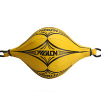 Wholesale New Double End MMA Boxing Training Punching Bag Speed Bag Yellow