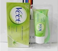 Wholesale 2013 VEET Veet for Men Women Safe Body Hair Remover Removal Gel Cream Hair Removal Cream FREE SPATULA