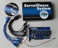 Nueva tarjeta de la tarjeta GV DVR del GV-800 de la alta calidad 16CH GV800 Ver.8.5 del CCTV GEVISION GV para los sistemas WIN7, D-Tipo (PCI-E) del CCTV, GV 800