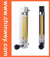 10   LZB -10, glass rotameter flow meter (flowmeter) with control valve for liquid and gas. conectrator