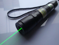Wholesale green laser pointers mw nm adjustable burn match battery changer box