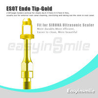 No No  easyinsmile ES0T Ultrasonic Scaler Endo File Holder Gold Tip 180 Degree chuck compatible with Sirona Ultrasonic Scaler