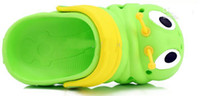 Wholesale garden clogs shoes - Children sandals slippers caterpillar shoes hole boys girls garden shoes slippers baby