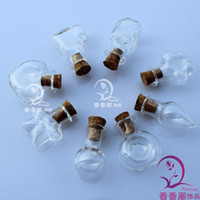 Wholesale Glass Bottle pendant Aroma vials perfume jewelry vial perfume necklace vials mini glass vials