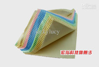 Wholesale New Colorful Microfiber Eyeglasses Cleaning Cloth x14cm Eye Glasses Contacts Lens Cleaning Supplies Factory Direct