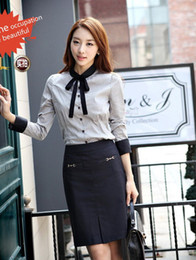 Wholesale summer women s work skirts OL skirts with Metal chain fashion slim skirt black dark blue YZ611