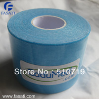 Cheap 1pcs 5cm*5m tex tape athletic tapes kinesiology sports taping strapping oxide respiratory exercise muscle