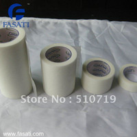 Wholesale medical non woven microporous paper tape surgical in yds cm m wound care dressing m bandage adhesive tape