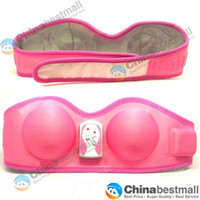Wholesale Hot Pink Sexy Home Use Bra Enlarge Relax Massage Bra amp Breast Enhancer Massager FB B