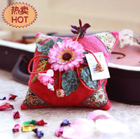 Wholesale Sachets car accessories pure plant dried flowers ornaments gifts dried flowers