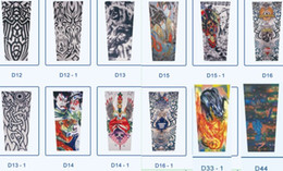 Wholesale new Mixed Designs Tattoo Arm Sleeves Excellent