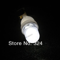Wholesale LLFA480 T10 W5W White LED Side Car Auto Light lamp Wedge Bulb blue yellow red