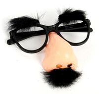 party costumes - Funny Big Nose Glasses Mustache Beard Halloween Costume Party Glasses Set